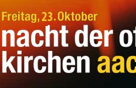 Nacht der offenen Kirchen in der EFG Aachen