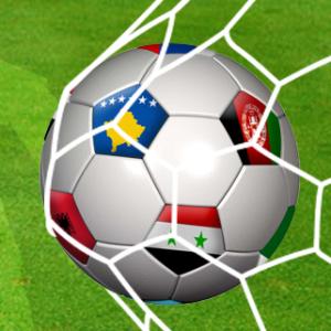 Fussball mit Flüchtlingen - Soccer with migrants @ Sportplatz | Aachen | Nordrhein-Westfalen | Deutschland