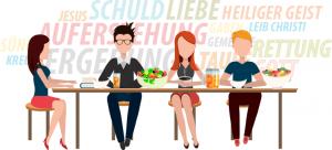 Glaubenskurs Tischgespräche