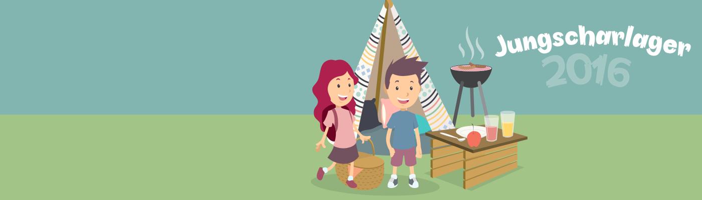 Jungscharlager für Kids von 8-13 Jahren