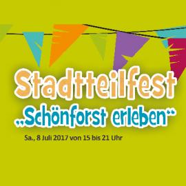 """Stadtteilfest """"Schönforst erleben"""""""